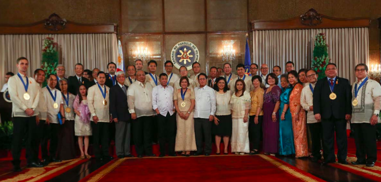 The Presidential Awards for Filipino Individuals and Organizations Overseas