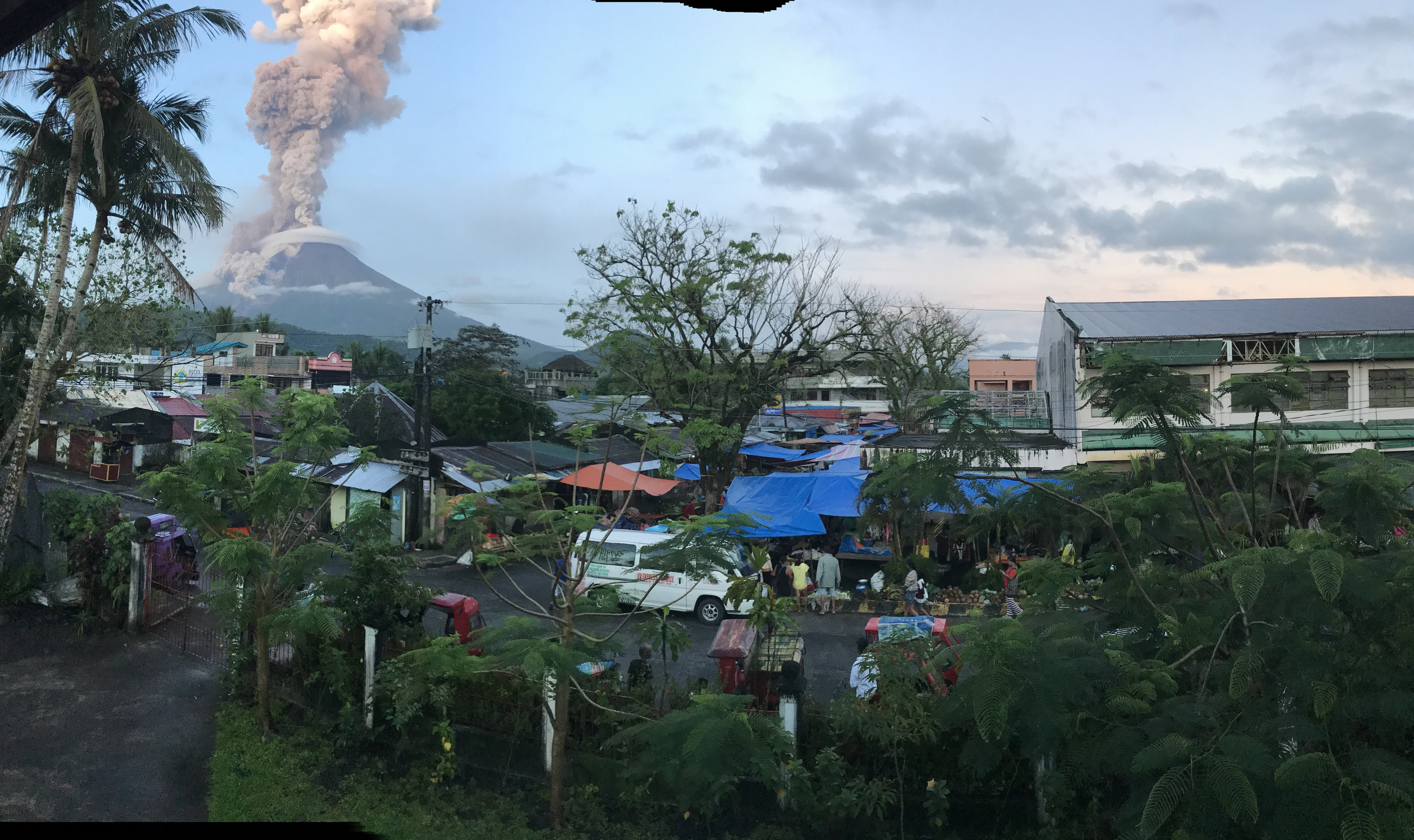 Over 56,000 people are forced to flee amidst Mayon Volcano eruption in Albay, Philippines.