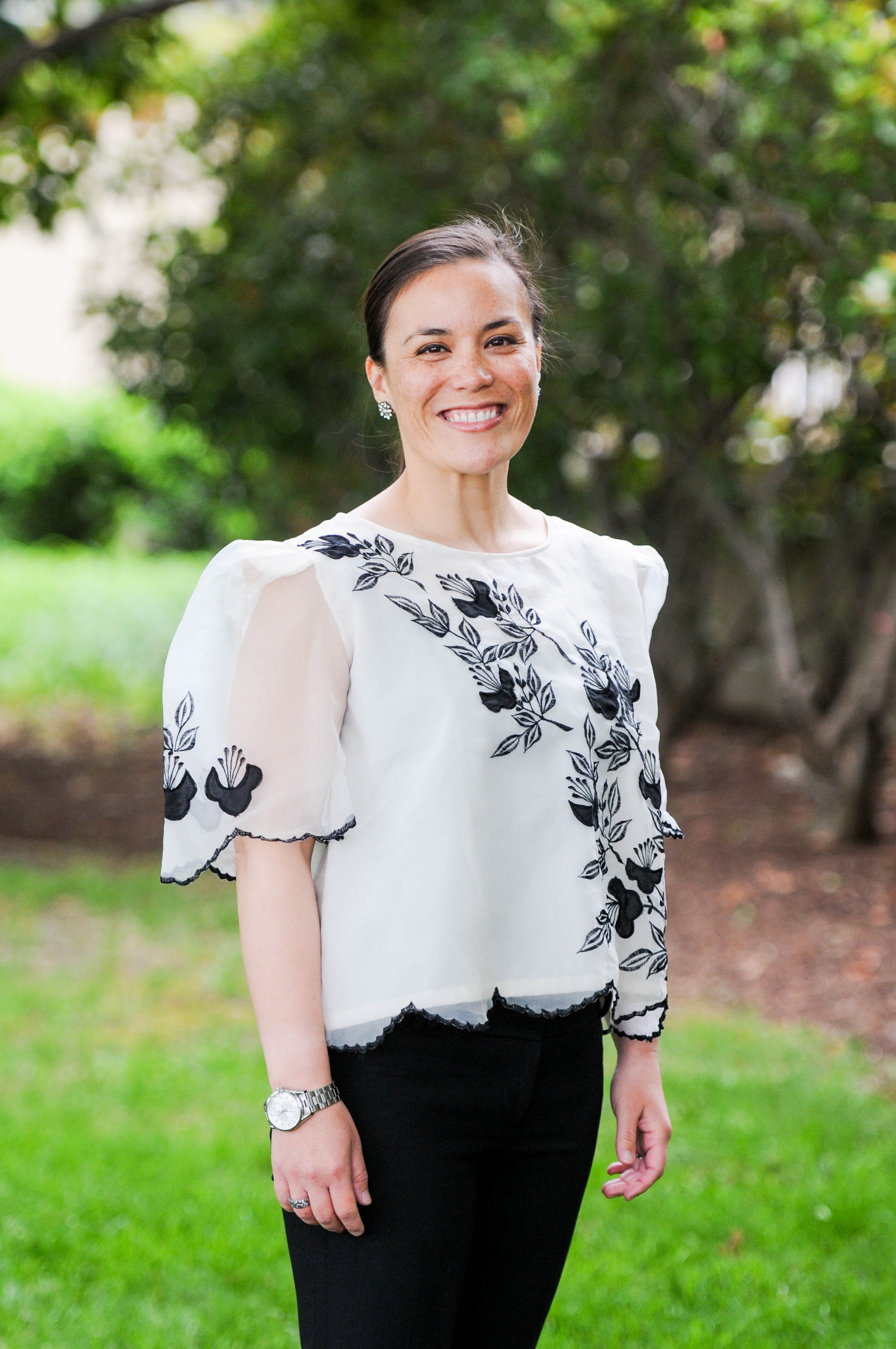 Gina Ortiz Jones hopes to make history as the first lesbian, Iraq War veteran and first-generation Filipina-American to hold a U.S. House seat in Texas. Photo Credit:  Gina Ortiz Jones