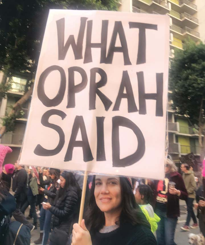 Photo taken during the second Women's March in Los Angeles held on Jan. 20, 2018 (Photo by Janet R. Nepales)