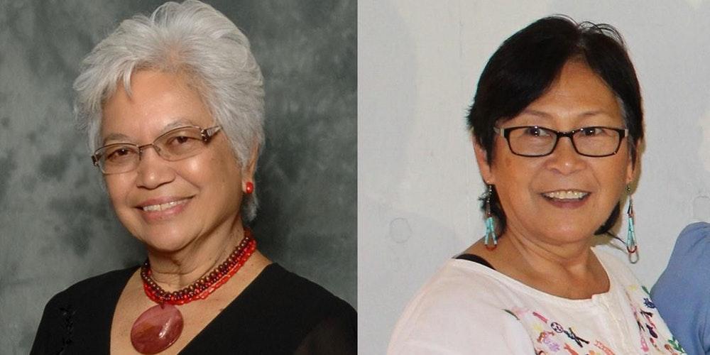 Cynthia Bonta (U.S. FWN100™ '12) and Lillian Galedo (U.S. FWN100™ '07)