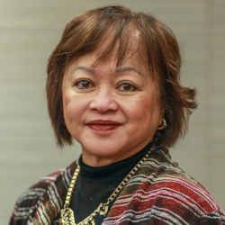 Milagros Eustaquio Syme  (Global FWN100™ '17)  Her Worship Justice of the Peace Ontario Court of Justice   Appointed by the Province of Ontario in 2005.