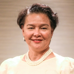 Junever Melchor Mahilum-West  (Global FWN100™ '17) Ambassador Extraordinary and Plenipotentiary to the Hashemite Kingdom of Jordan with concurrent jurisdiction over the Palestine Republic Embassy of the Republic of the Philippines in Jordan   Appointed by President Benigno S. Aquino III in 2014.
