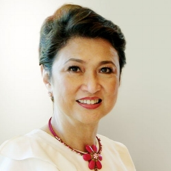 Imelda M. Nicolas  (Global FWN100™ '13) Chair of the Commission on Filipinos Overseas (Term 2010-2016) Republic of the Philippines   Appointed by President Benigno S. Aquino III in 2010.