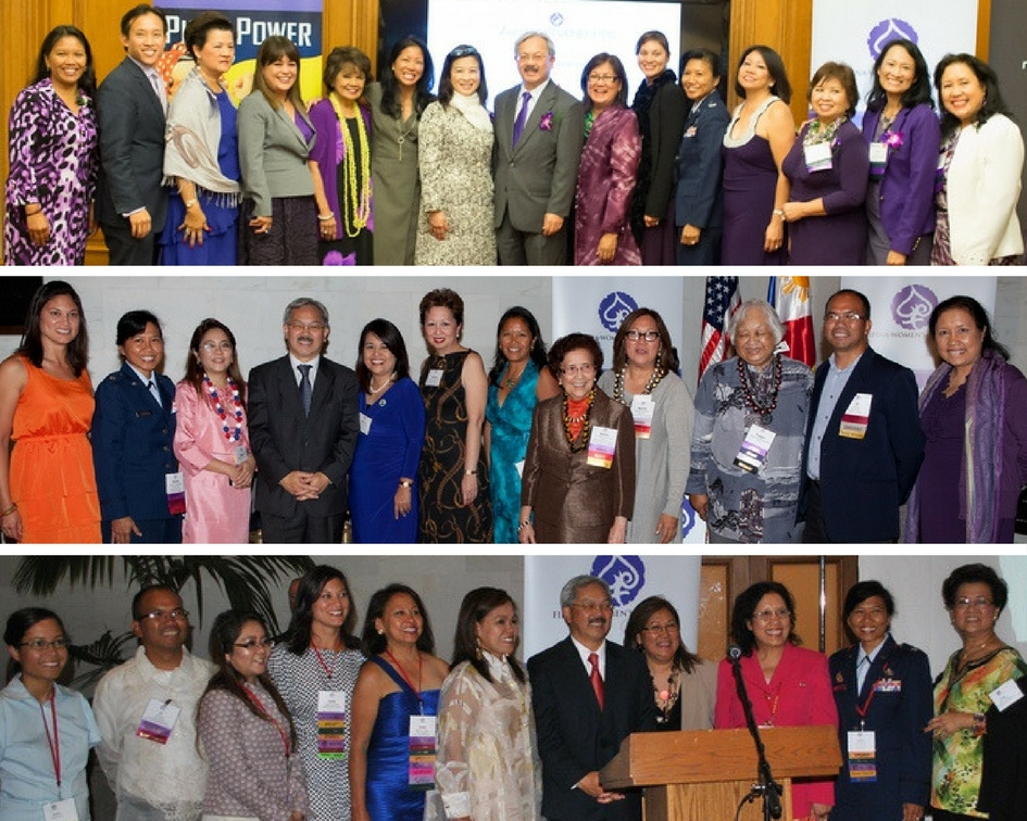 The late San Francisco Mayor Ed Lee welcomed the FWN Board, FWN100 awardees, members and distinguished guests from around the world at the Filipina Leadership Global Summits held in San Francisco over the years.