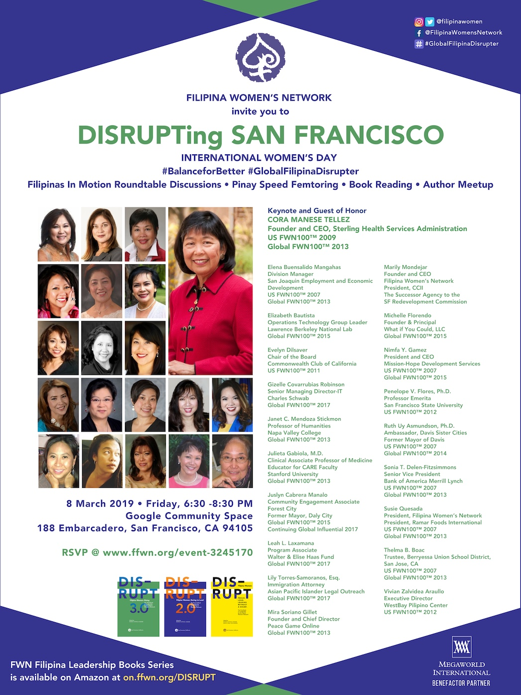 DISRUPTing San Francisco Mar 8 2019