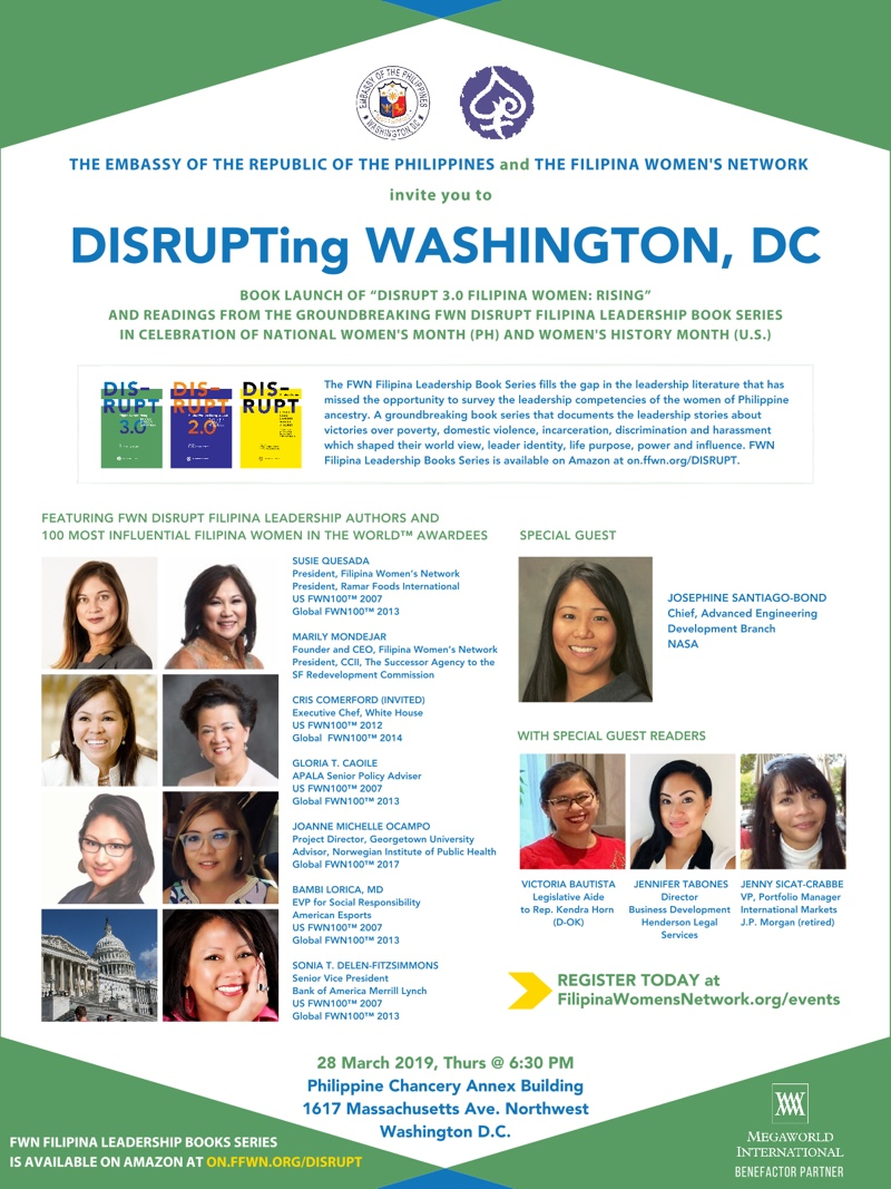 DISRUPTing Washington DC Mar 28 2019