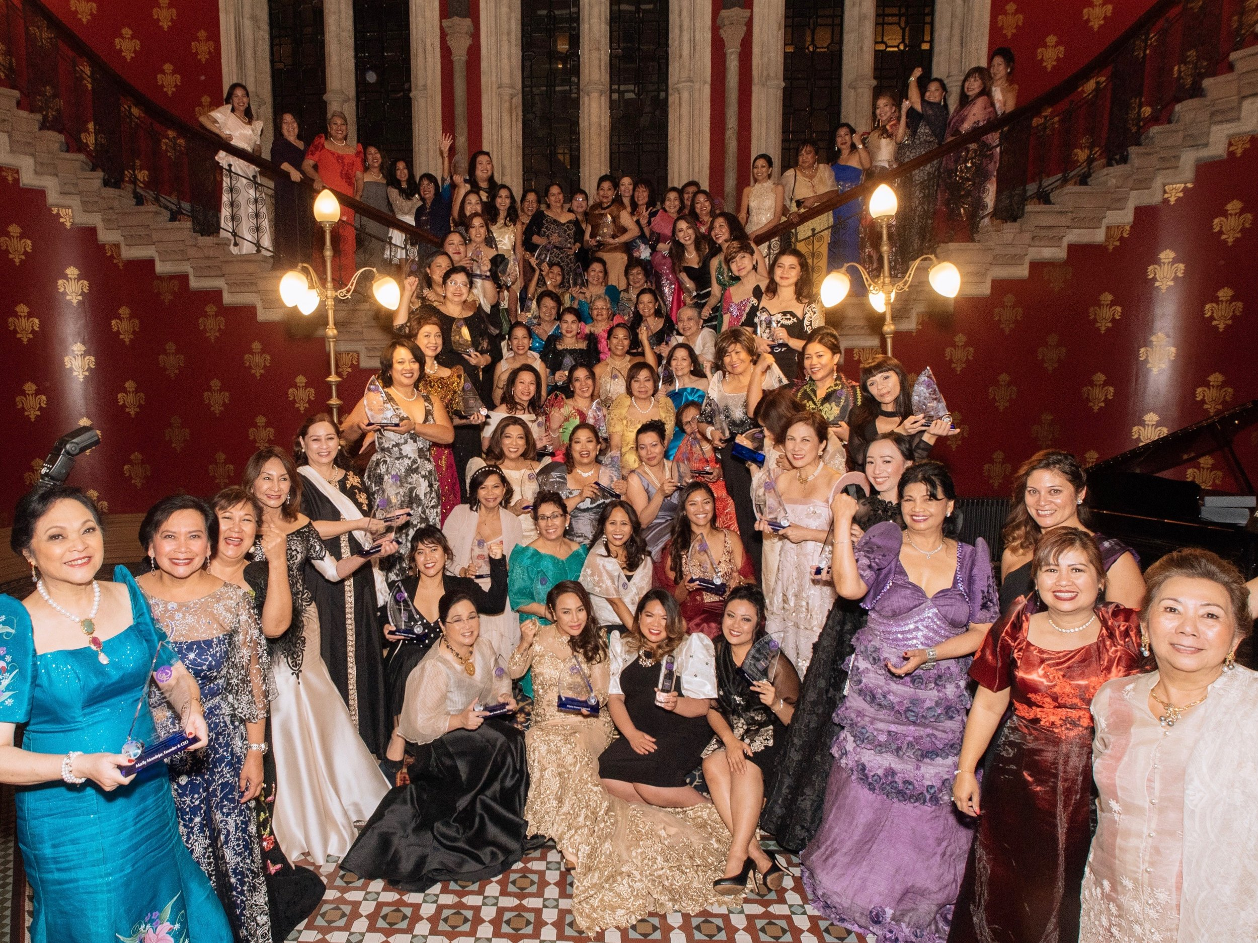 Global FWN100™ 2018 Awardees at the St. Pancras Renaissance in London, UK, September 14, 2018