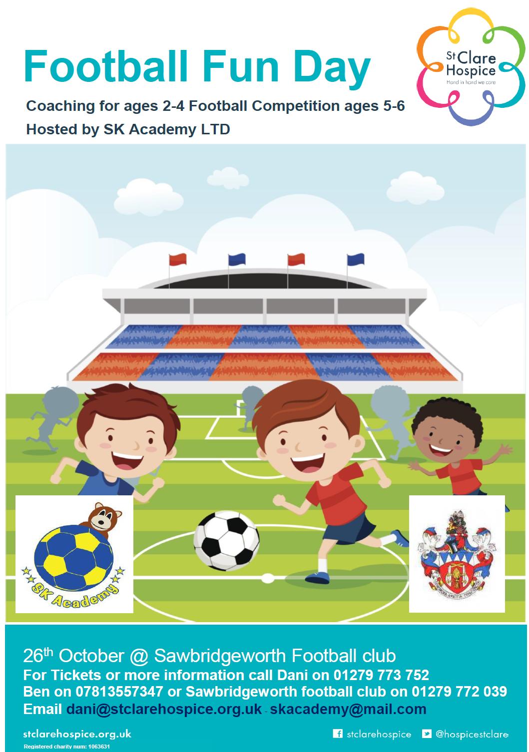 SK Football Academy - Sawbridgeworth Town Funday