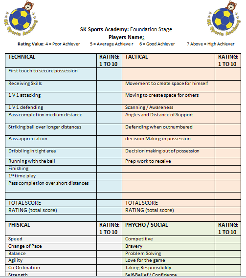 SK Sports Academy - Bishops Stortford
