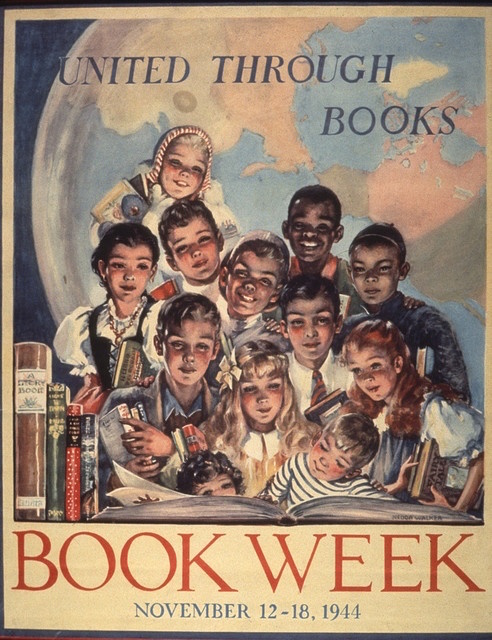 Children's Book Week Poster from 1944