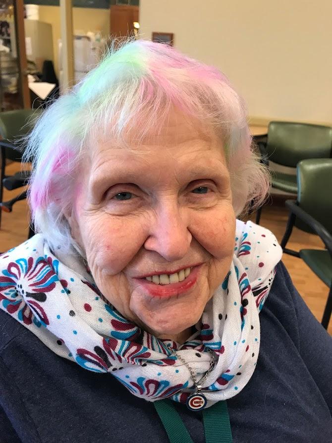 Rainbow Hair?  Sure!