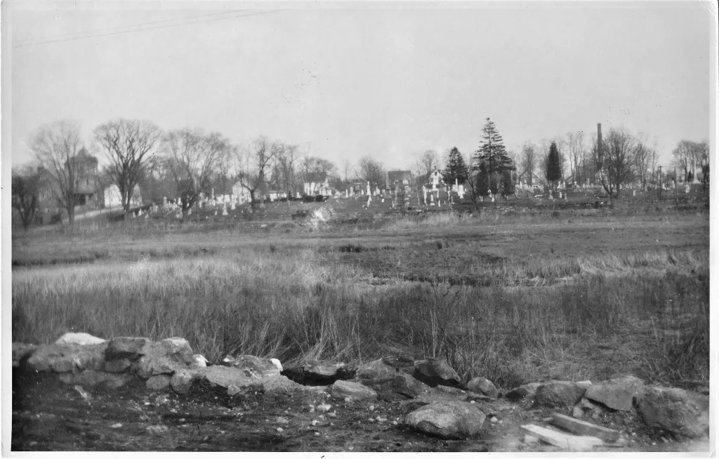 Did you know Binney Park was originally a mosquito infested swamp?  (Photo courtesy of the archives of the FCCG and Coline Jenkins)