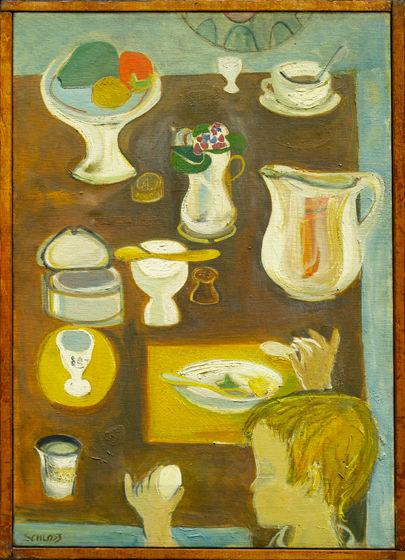 """Edith Schloss, """"Egg Eater,"""" 1950"""