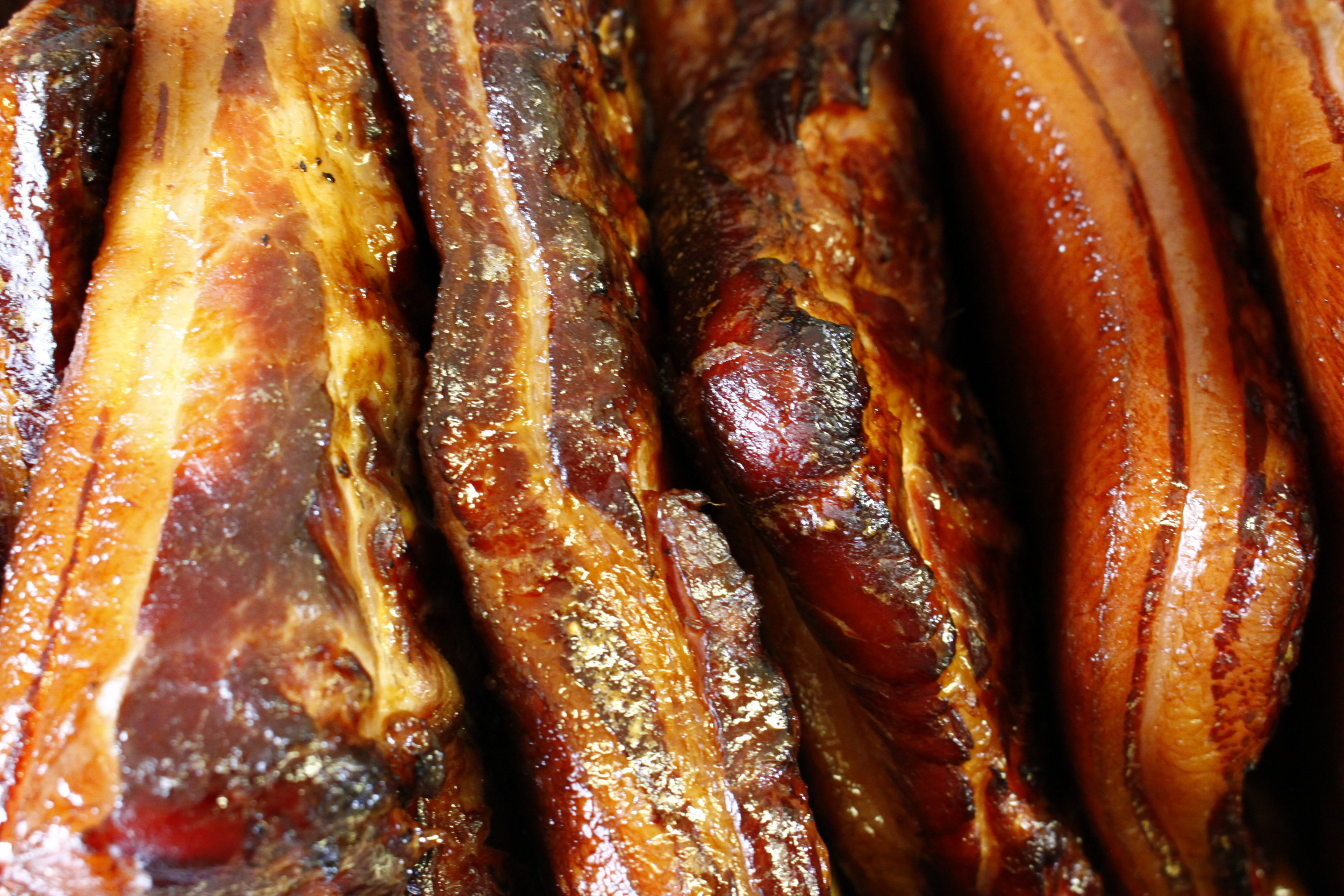 Double smoked bacon