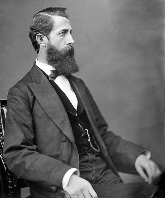 """John J. Davis, a Clarksburg Lawyer who opposed West Virginia statehood, was labeled a """"Black-hearted TRAITOR"""" by his neighbors. After the war, however, Davis served as a Democratic Congressman from the State whose existence he once opposed."""