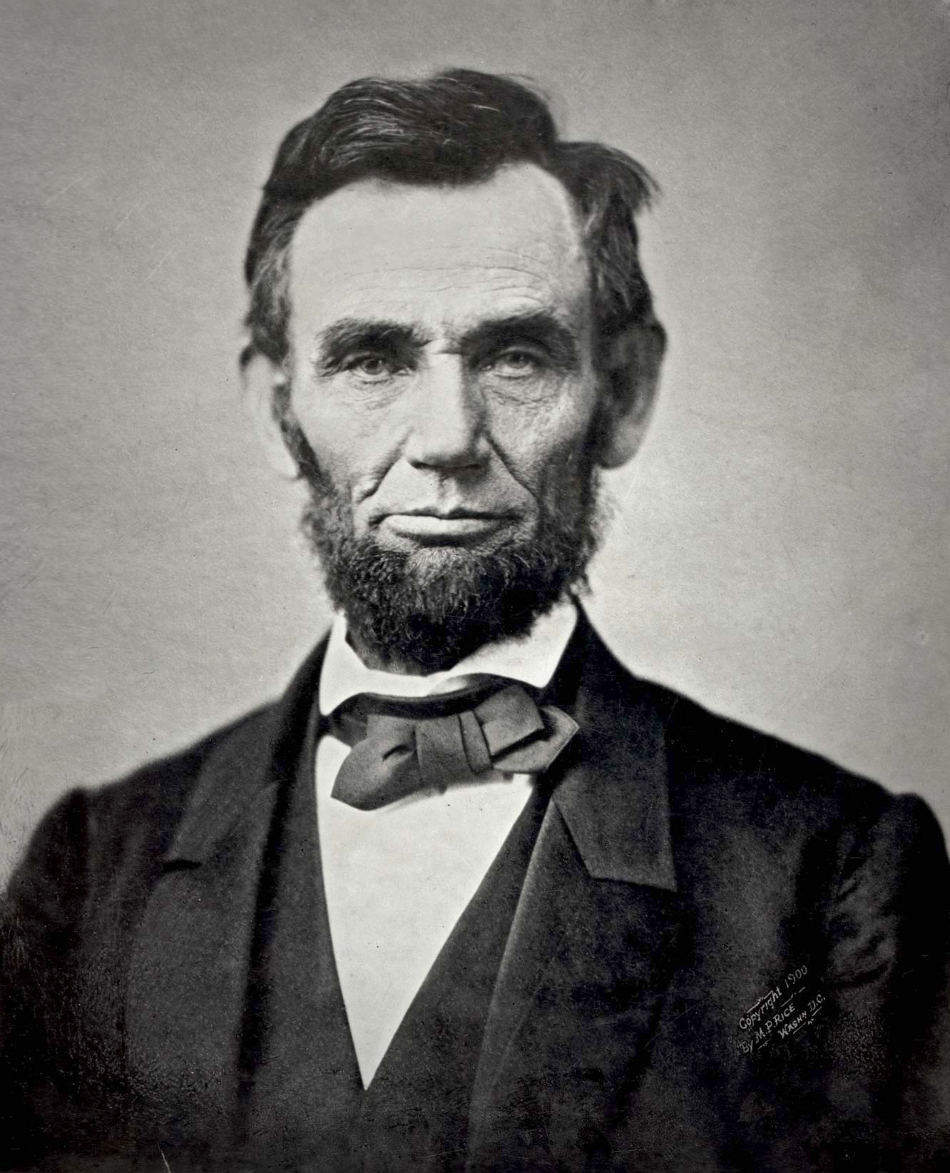 Lincoln in 1863, half-way through the Civil War.