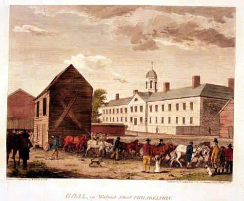 The Walnut Street Jail, Eastern State's predecessor in Philadelphia