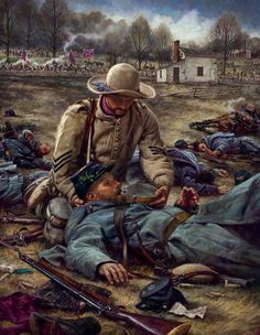 For I Was Thirsty by Nathan Greene: The Angel of Marye's Heights, Confederate soldier Richard Rowland Kirkland