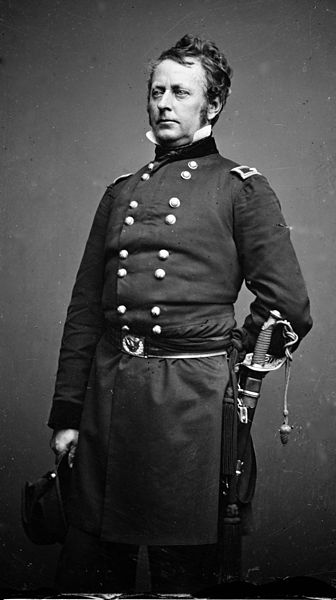 General Joseph Hooker commanded the Union Army of the Potomac during the Chancellorsville Campaign