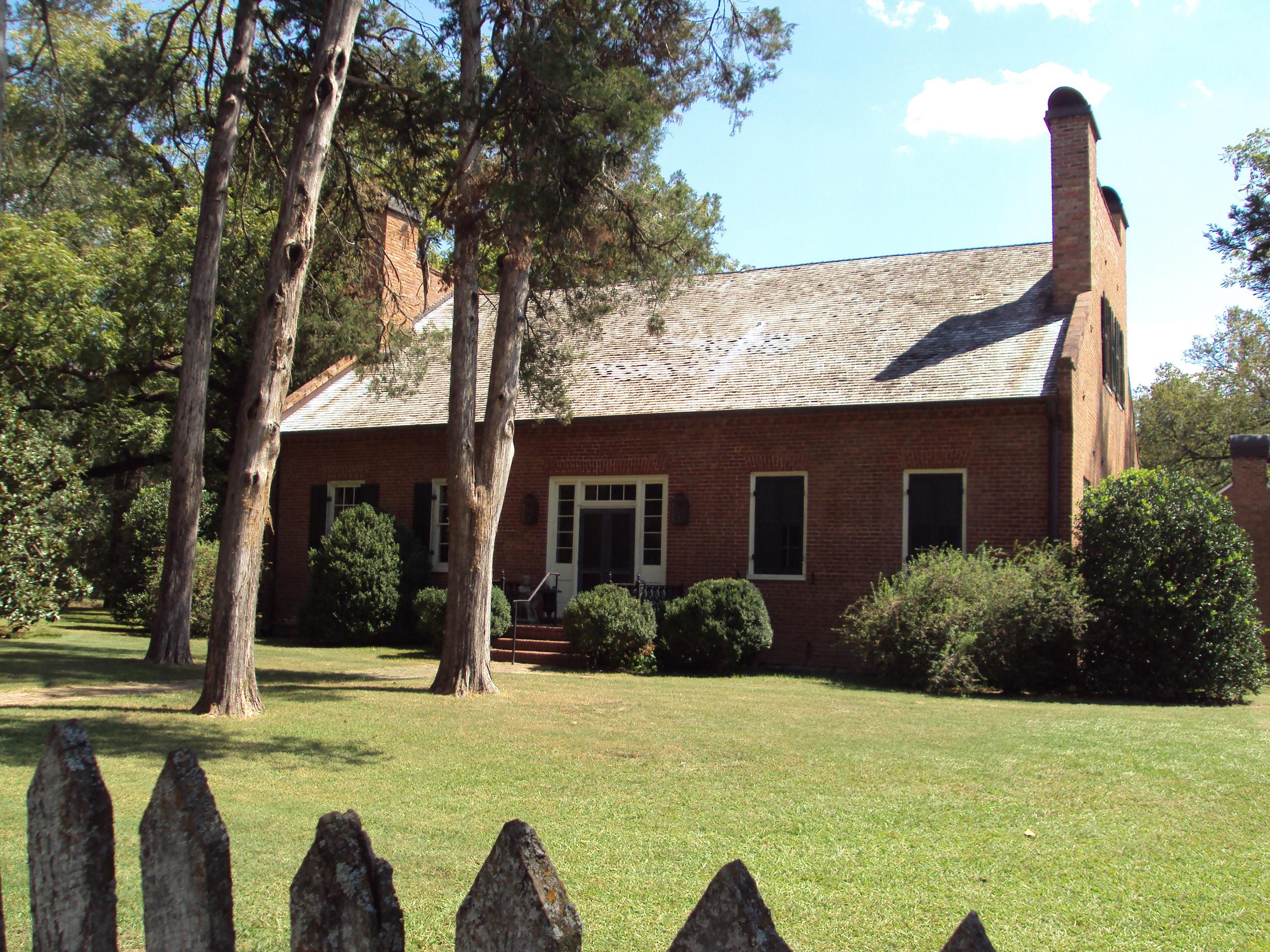 The Ten-Mile House, where David O. Dodd was imprisoned