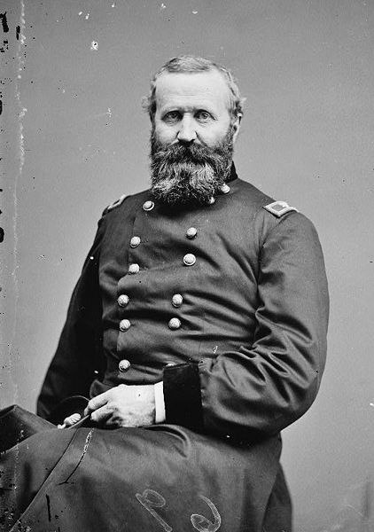 Gen. Alexander Hays Died at The Wilderness, Holding a canteen supposedly full of whiskey.