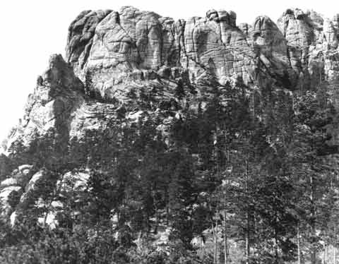 Mount Rushmore was known locally as the Six Grandfathers