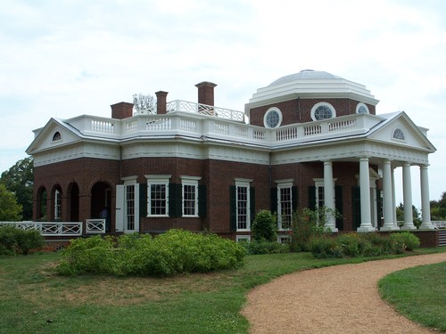 Thomas Jefferson's Monticello, where the topic of slavery is addressed head-on