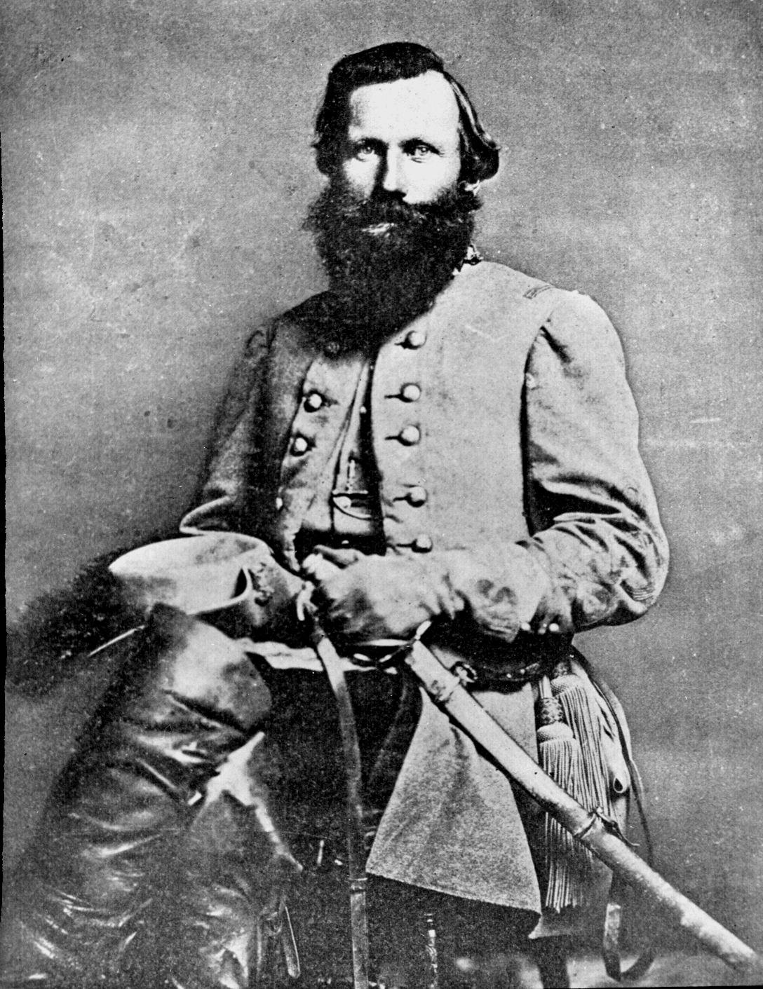 J.E.B. Stuart, Often blamed for the Confederate defeat at Gettysburg