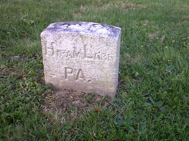 Grave of Hiram Lare.