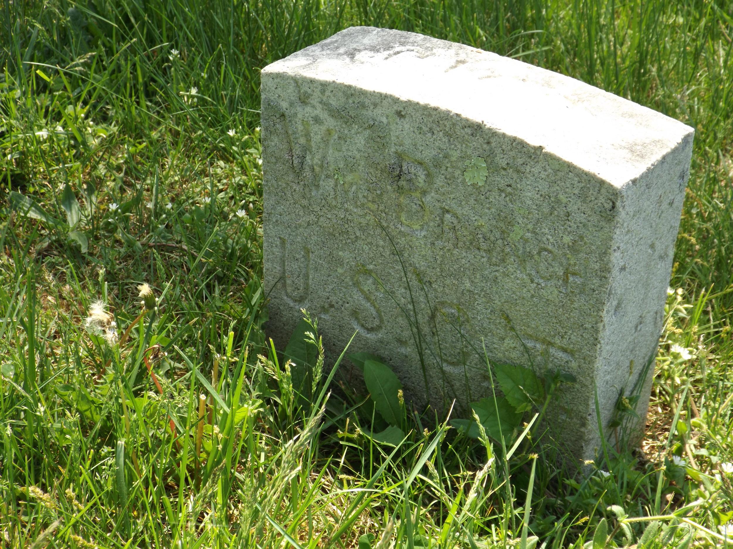 Grave of William Branch.