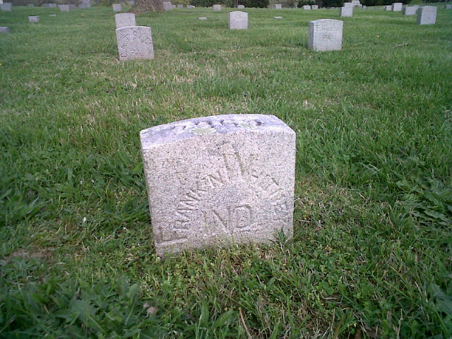 Grave of Franklin Whitney