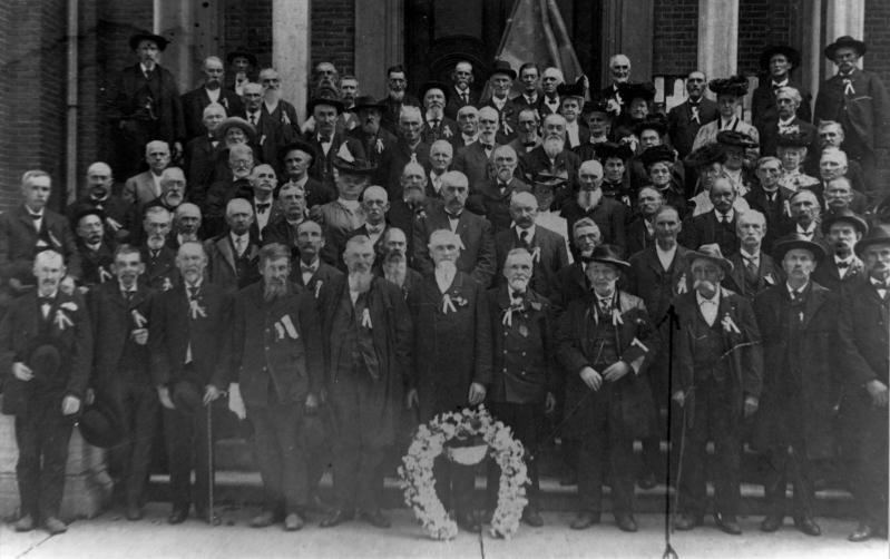 Veterans of the 137th New York Infantry after the war