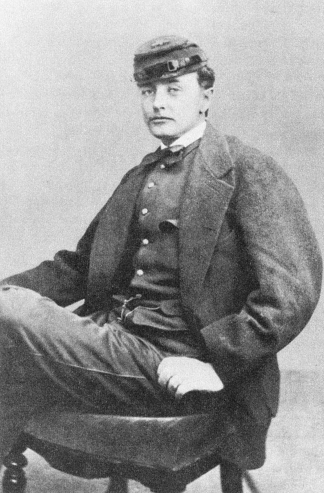 """Henry livermore Abbott, 20th Massachusetts """"The Harvard Regiment"""""""