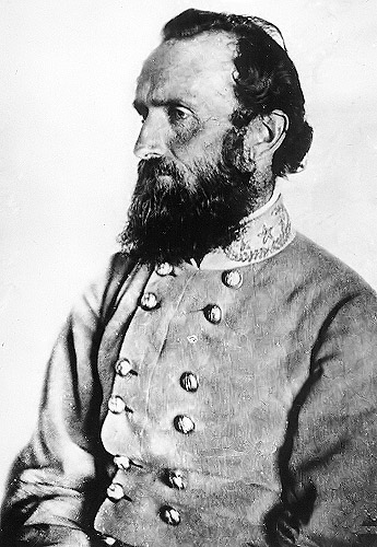 """Thomas J. """"Stonewall"""" Jackson led the attack on the XI Corps on May 2, 1863."""