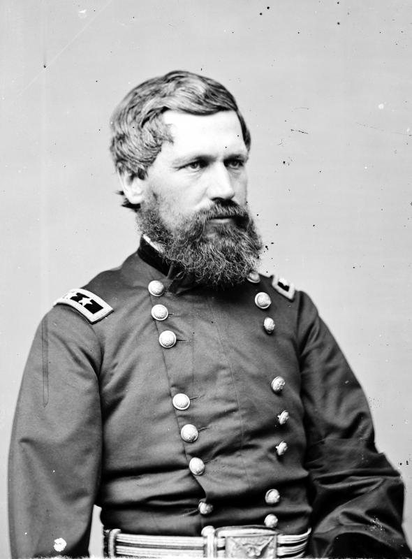 Oliver O. Howard, in command of the XI Corps at Chancellorsville.