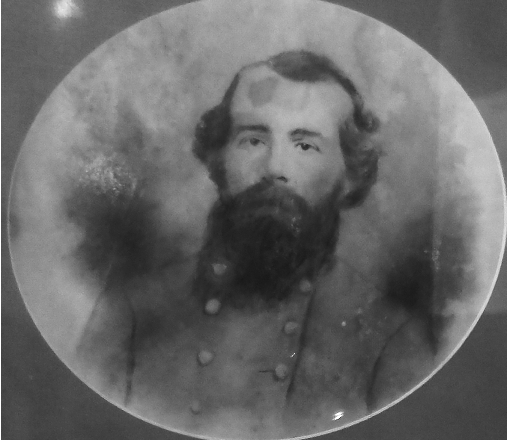 Captain Joseph Forrest organized the Chesapeake Artillery on January 1, 1862. He was the only individual slaveholder in the unit. Courtesy of Debi Burt.