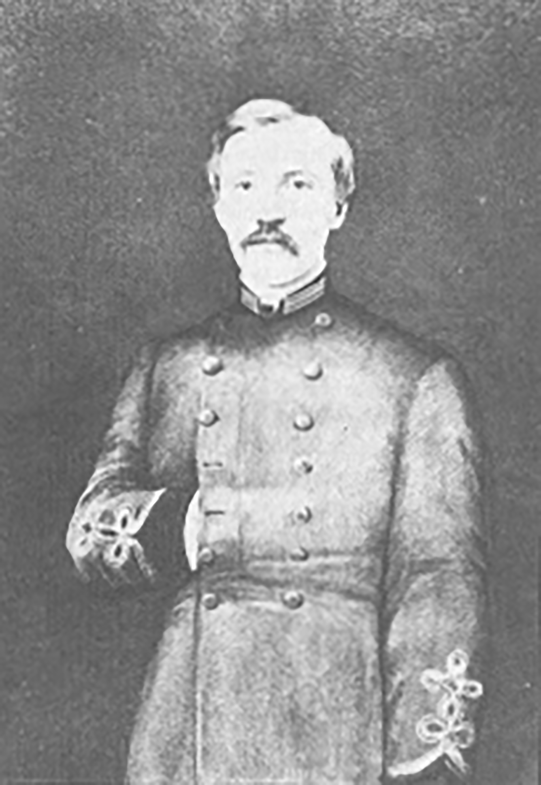 Captain Billy Brown commanded the Chesapeake Artillery during the Maryland Campaign. Author.