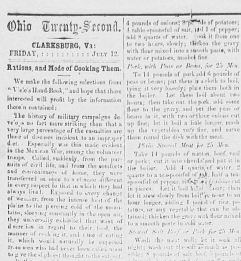 Ohio Twenty-Second Rations.jpg