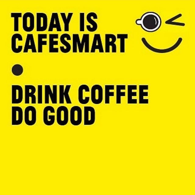 Cafe smart today! $1 from every coffee sold gets donated back to our community. And some delicious @sugarmummah treats to go along with it. #helpyourhood #cafesmart2019 #holygoatcoffee