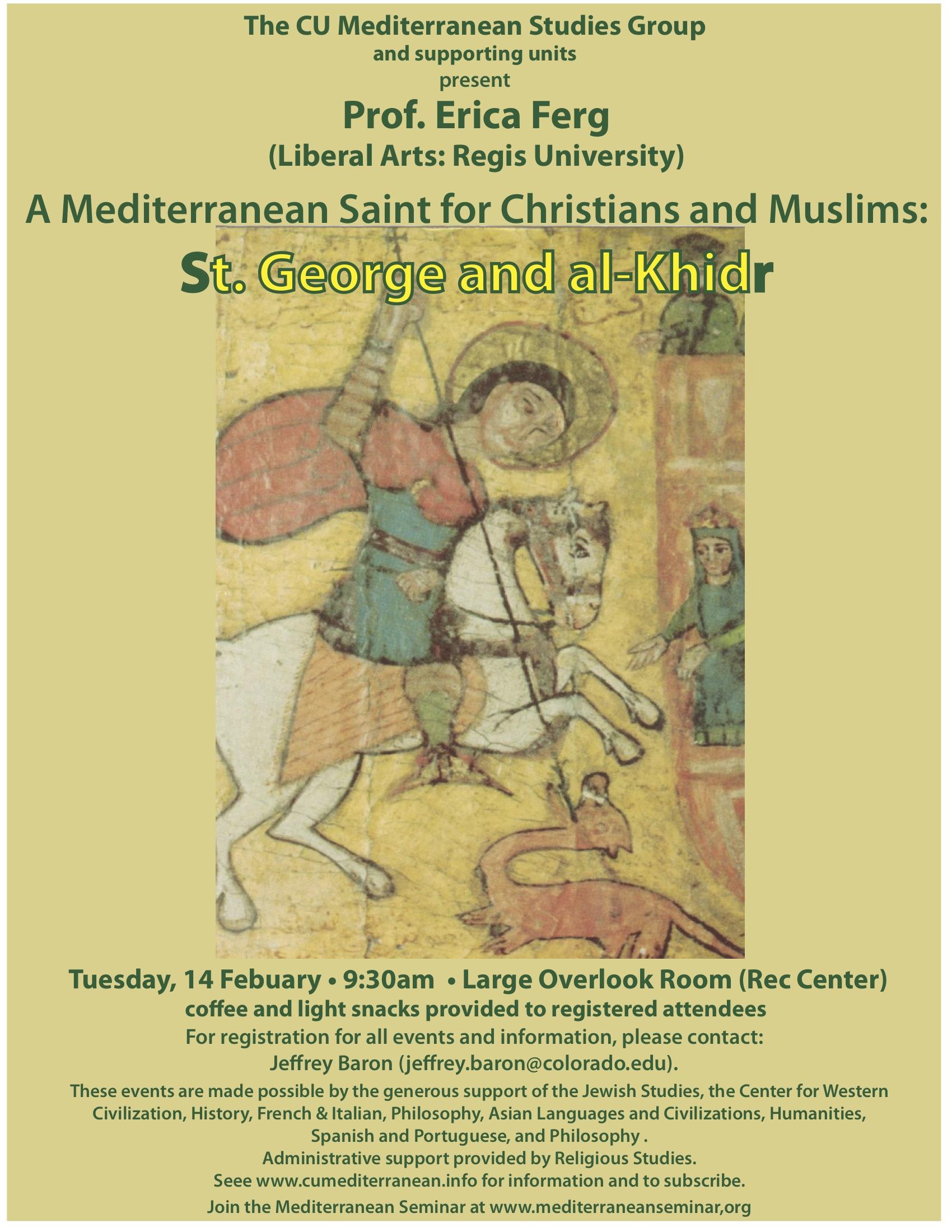 CU Mediterranean Studies Group — The Mediterranean Seminar
