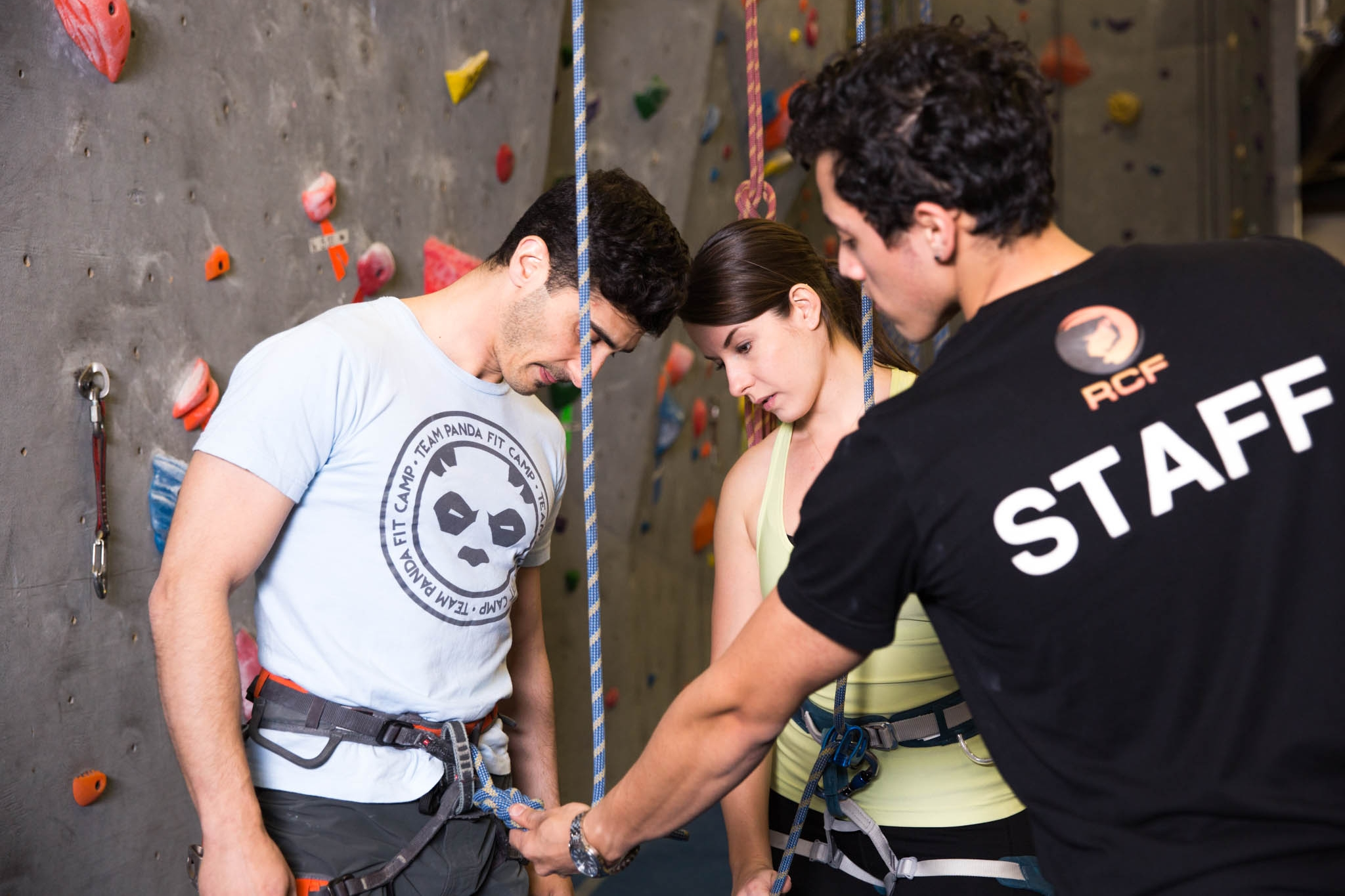 - Learn To Belay