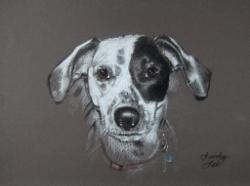 Bailey Brunelle's portrait by Sandy Lee Fine Art