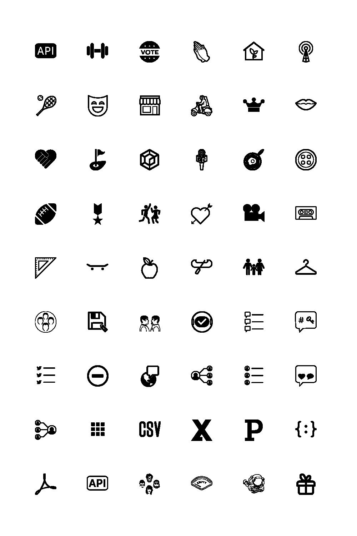 SaaS Platform Icons