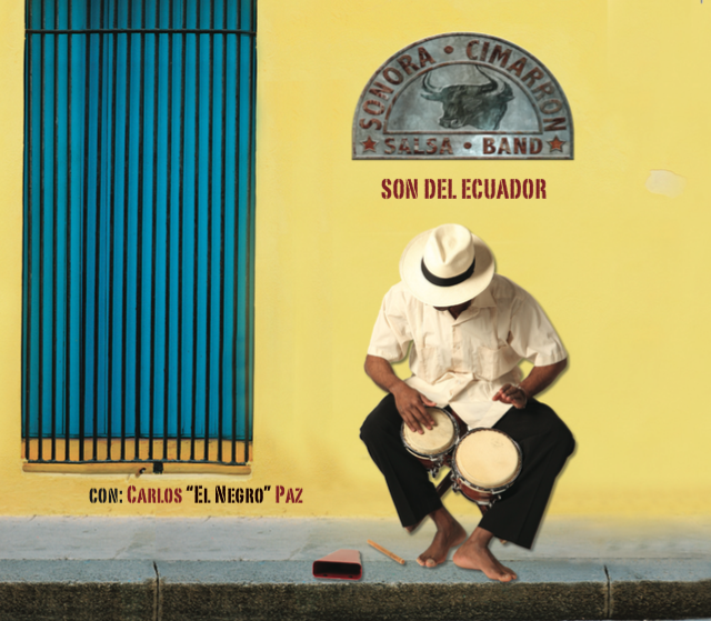 Son del Ecuador - IndiGoBoom - 2012Founded in 2004 in Oslo, Norway, by the Ecuadorian percussionist, composer and arranger Tito Guevara, Sonora Cimarrón debuted with Son Del Ecuador, a recording featuring ten top-quality acoustic numbers together with the Ecuadorian vocalist Carlos