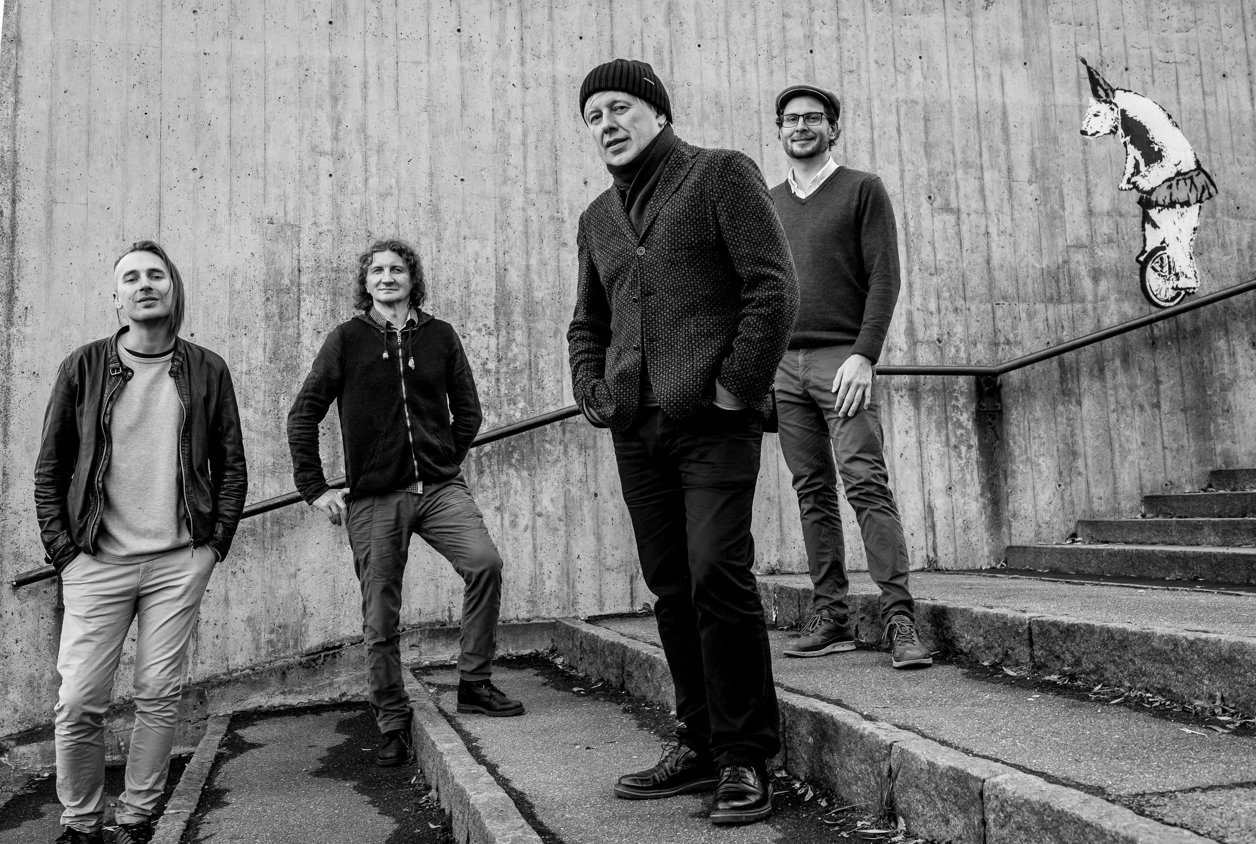 Treskatresk - jazzTreskatresk is an ambitious jazz project, where two of the most sought-after jazz musicians in Russia appear together with two young jazz musicians from Northern Norway. The music puts the well known