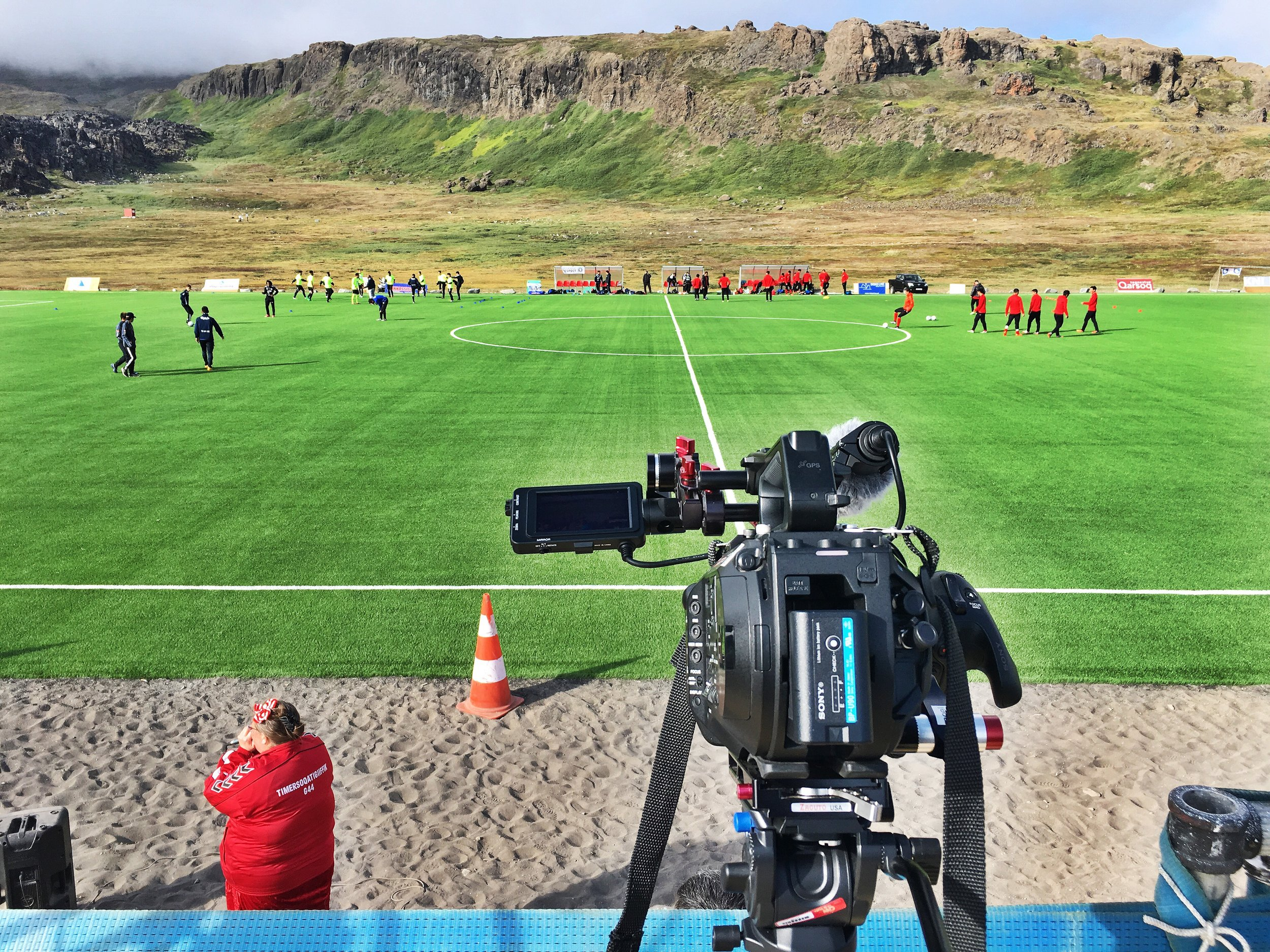The Greenlandic Men's Championship semi-finals: G44 from Qeqertarsuaq and tournament favourites and last year's champions B67.