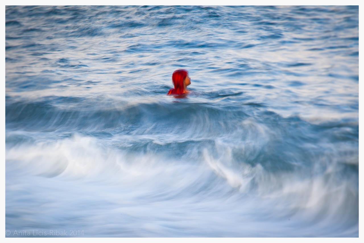 redhead mermaid