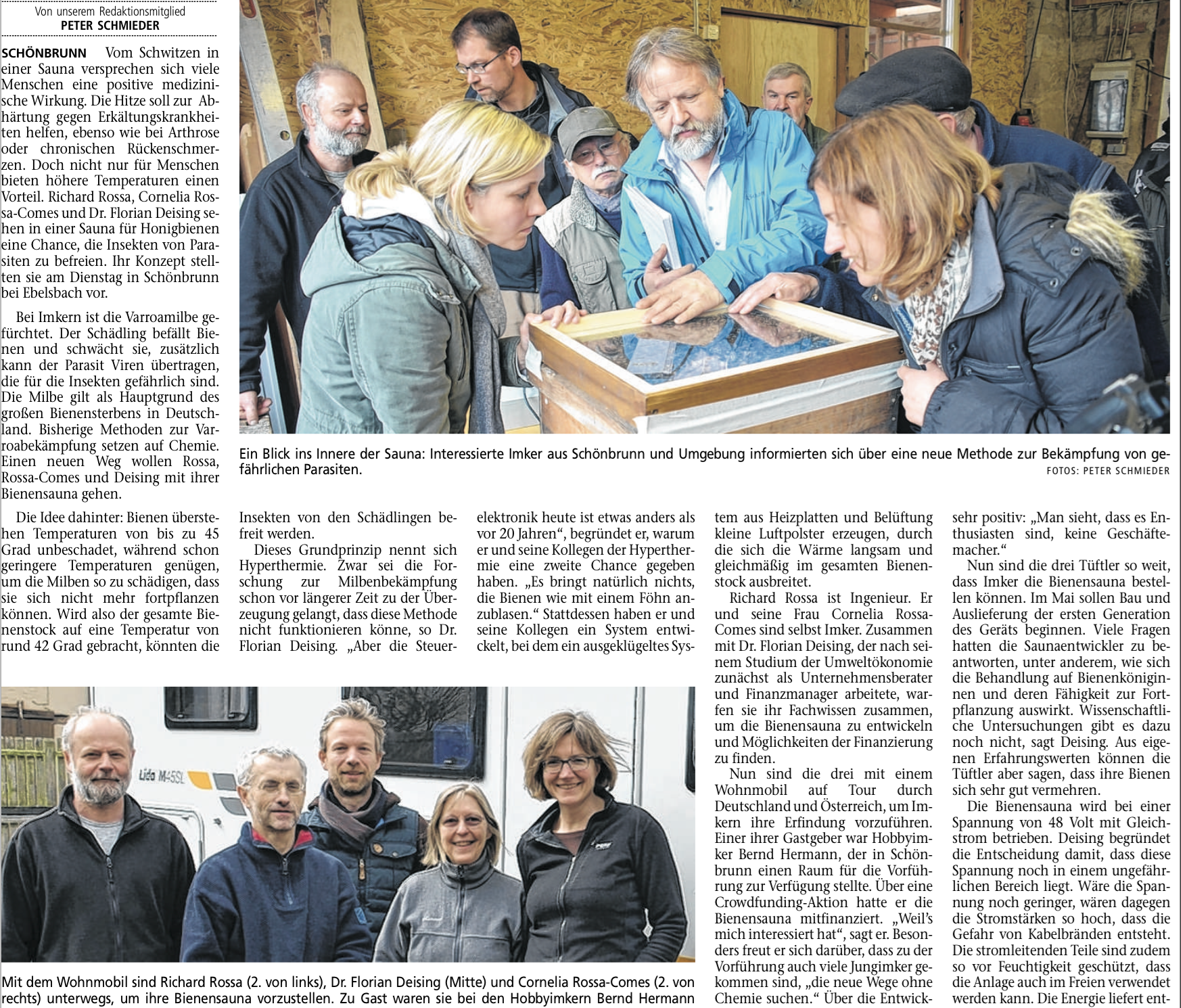 Hassfurter Tageblatt vom 1. April 2015