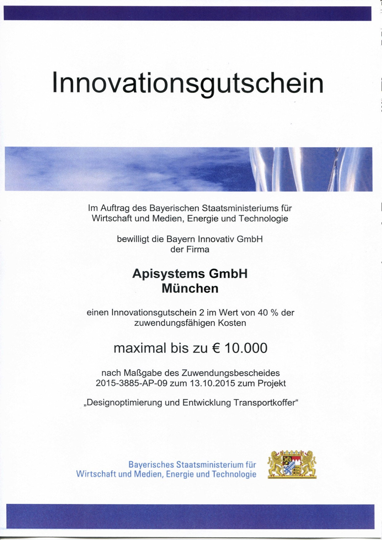Innovationsgutschein II